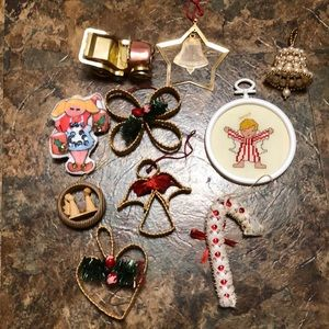 Other - Bundle of Vintage Christmas Ornaments/Decorations